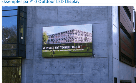 P10 Outdoor LED Display Panel Module