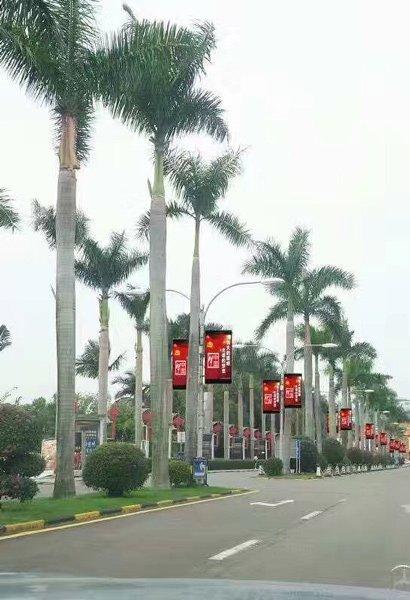 Street Pole LED Display P5