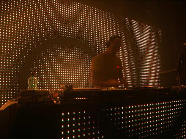 LED Screen DJ Booth