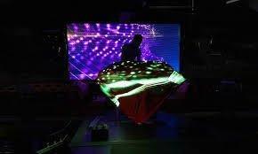 LED Wall DJ Booth