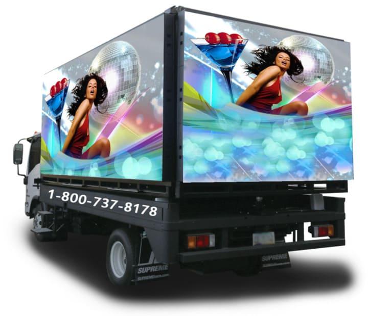 Mobile Truck Advertising