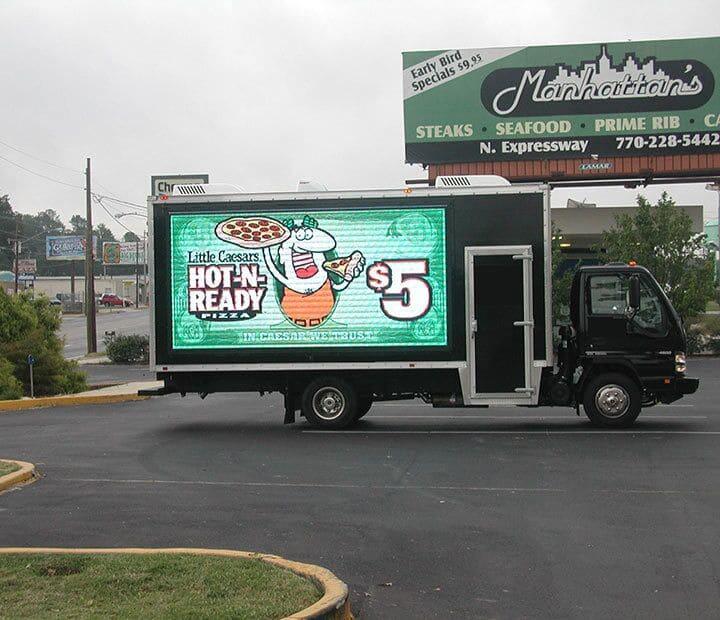 Truck LED Screen